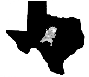 The Netherlands compare with Texas