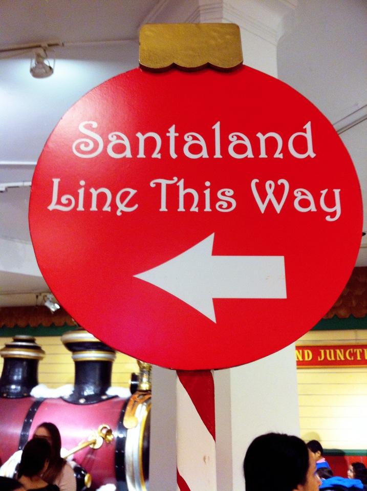 'Macy's Santa Land'