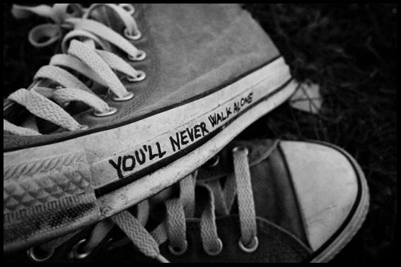 'You Never WalkAlone'