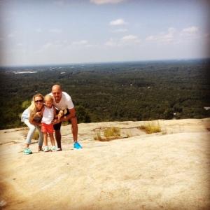 Top Stone Mountain